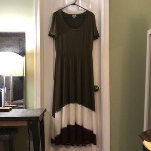 LuLa Roe Rielly dress